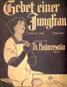 Bądarzewska Gebet einer Jungfrau by Public domain