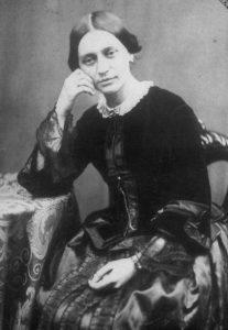 Clara Schumann 1853 by Public domain