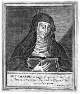 Hildegard von Bingen CC BY (https://creativecommons.org/licenses/by/4.0)