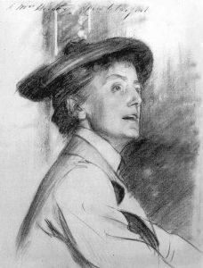 Dame Ethel Smyth by John Singer Sargent / Public domain