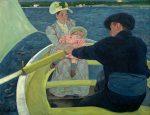 The Boating Party by Mary Cassatt / Public domain