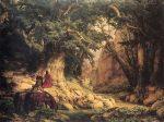 Tausendjaehrige Eiche (Lessing 1837) by Karl Friedrich Lessing / Public domain